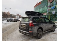 Установка багажника и бокса Thule на LEXUS GX 460 [ФОТО]