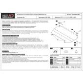 Защита картера и КПП CITROEN C3 2002-2008 1,1; 1,4; 1,6; 1,4HDI; 1,6HDI стальная 2,0 мм
