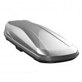 Бокс на крышу LUX IRBIS 206 серый металлик 470L