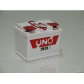 Аккумулятор Uno для Хендай Солярис 2011-2016 55Аh 460А артикул: 4620014301915