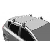 Багажник на крышу 3 LUX с дугами 1,3м аэро-классик (53мм) для Kia K5 sedan 2020-2021