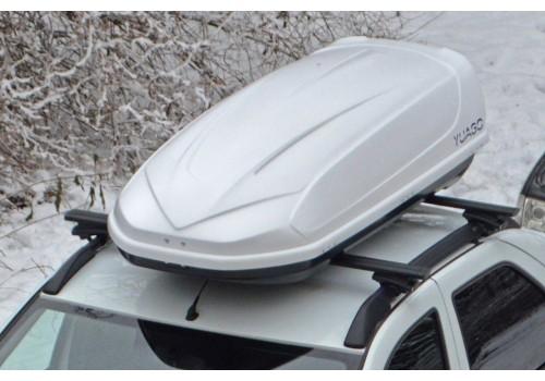 Бокс на крышу YUAGO Avatar EURO 460L 186х86х46 черный-1