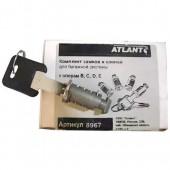 Набор замков для багажника Атлант (4 шт.)