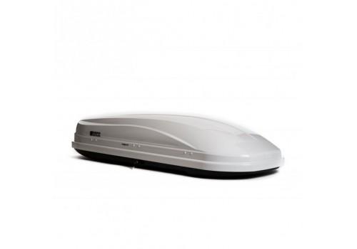 Бокс на крышу Магнум 330 (белый карбон) Евродеталь