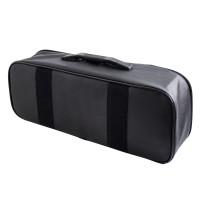 Сумка для набора автомобилиста из кож.зам, с окнами (47х11х20 см), черная (ANA-BAG-03)