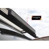 Крышка светодиодной балки 750х70 мм шагрень