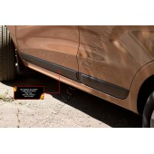 Молдинги на двери (задний правый) Lada Xray 2016-  глянец (под покраску)