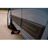 Молдинги на двери (задний левый) Volkswagen Golf 2009-2012 VI глянец (под покраску)