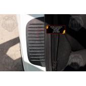 Накладки на внутренние части задних арок Lada Granta 2011-2015 (седан) шагрень