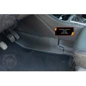 Накладки на ковролин тоннеля Lada Vesta 2015-  шагрень