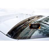 Жабо цельное без скотча Nissan Terrano 2014-2015  шагрень