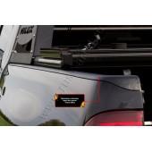 Накладки на боковые борта без скотча Toyota Hilux 2015-2018 VIII шагрень