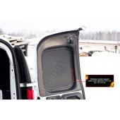 Обшивка задних дверей 2мм (со скотчем 3М) Lada Largus 2012-2019 фургон шагрень