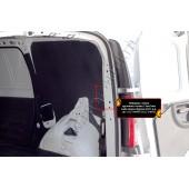 Обшивка стенок грузового отсека 3 мм. Lada Largus 2012-2019 фургон шагрень