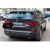 Спойлер крышки багажника BMW X3 2018- глянец (под покраску)