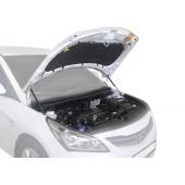 Амортизаторы капота RIVAL Hyundai Solaris 2011-2016
