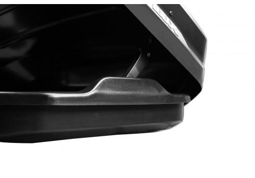 Бокс на крышу LUX TAVR 197 черный матовый 520л-9