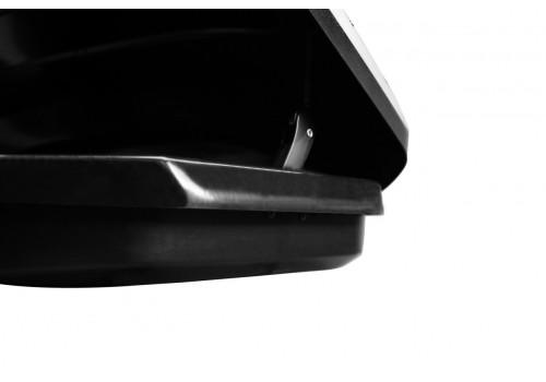 Бокс на крышу LUX TAVR 197 черный матовый 520л-8