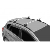 Багажник на крышу LUX с дугами 1,2м аэро-трэвэл (82мм) для  BMW X1 (F48), X3 (F25 с 2014 г), X5 (F15 с 2014 г.) с интегр. рейл.