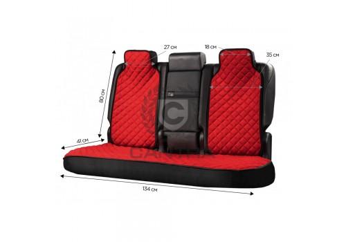 Накидки на задние сиденья CANTRA sport-5