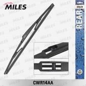 Щетка (дворник) задняя Miles 350 мм артикул: cwr14aa