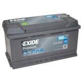 Аккумулятор Exide для Hyundai Santa Fe III 2012-2018 дизель 100Ah 900A артикул: ea1000