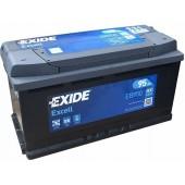 Аккумулятор Exide для Hyundai Santa Fe III 2012-2018 дизель 95Ah 850A артикул: eb950