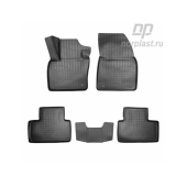 Коврики салонные для Volvo XC40 3D 2017-2020 компл