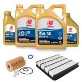 Набор для ТО LEXUS LX 450D 2015-2020 Cтандарт масло:  Idemitsu 5w30