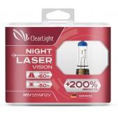 Лампа H1 Clearlight 12V-55W Night Laser Vision +200% Light 2 шт.