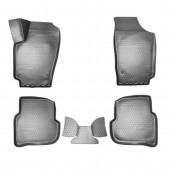 Коврики салонные для Volkswagen Polo (SD) 3D (2010)
