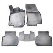 Коврики салонные для Volkswagen Tiguan II 3D (2016)