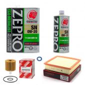 Набор для ТО LEXUS NX 200T 2014-2017 LUX масло:  Idemitsu ZEPRO 0w20