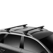 Thule Evo Raised Rail багажник на рейлинги 7104-71112 с перекладинами Evo Wingbar 108 см